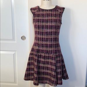 Nanette Lapore Plaid Dress size 6